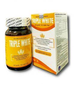 Viên uống sáng trắng da trị thâm nám Tripple White