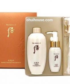 Công dụng của Whoo Cheongidan Radiant Cleansing Foam