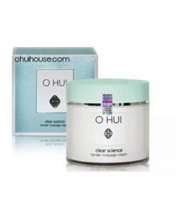 Kem massage cấp ẩm OHUI Clear Science Tender Massage Cream 230g