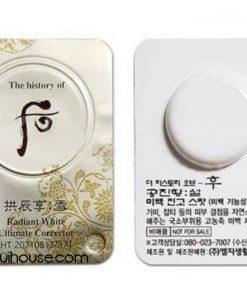 Set 10 vỉ Cao đặc trị nám Whoo Gongjinhyang Seol Radiant White Intensive Spot Corrector