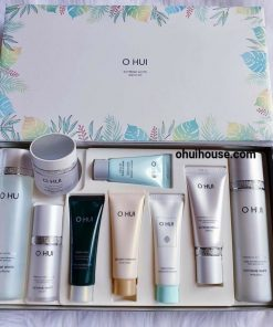 Bộ dưỡng trắng da chuyên sâu OHUI Extreme White Special Set Intensive Whitening