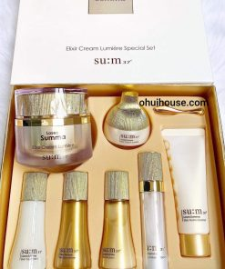 Bộ Kem dưỡng chống lão hóa trắng da đa năng Sum:37 Losec Summa Elixir Cream Lumiere Special Set
