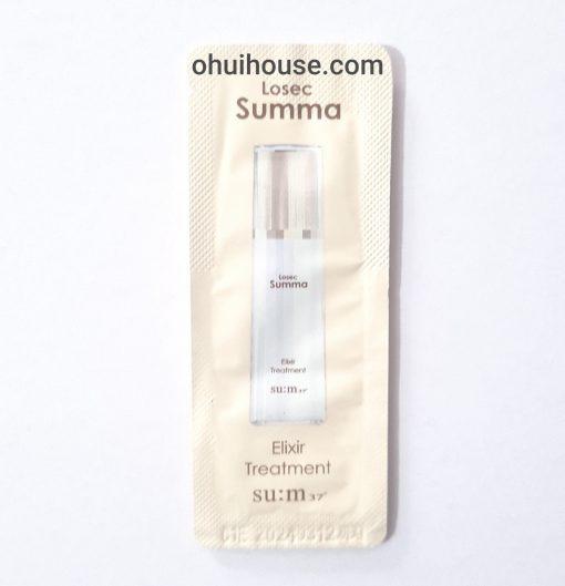 Sample Gói Tinh Chất Tái Tạo Dưỡng Trắng Losec Summa Summa Elixir Treatment Sum:37
