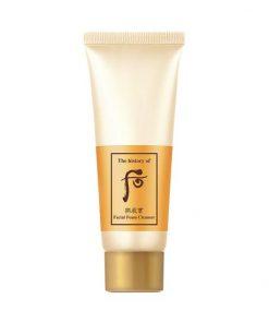 Set 2 Sữa rửa mặt dưỡng ẩm Whoo Gongjinhyang Facial Foam Cleanser 40ml