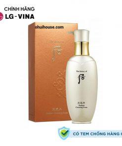 Sữa rửa mặt tái sinh da Whoo Cheongidan Radiant Cleansing Foam